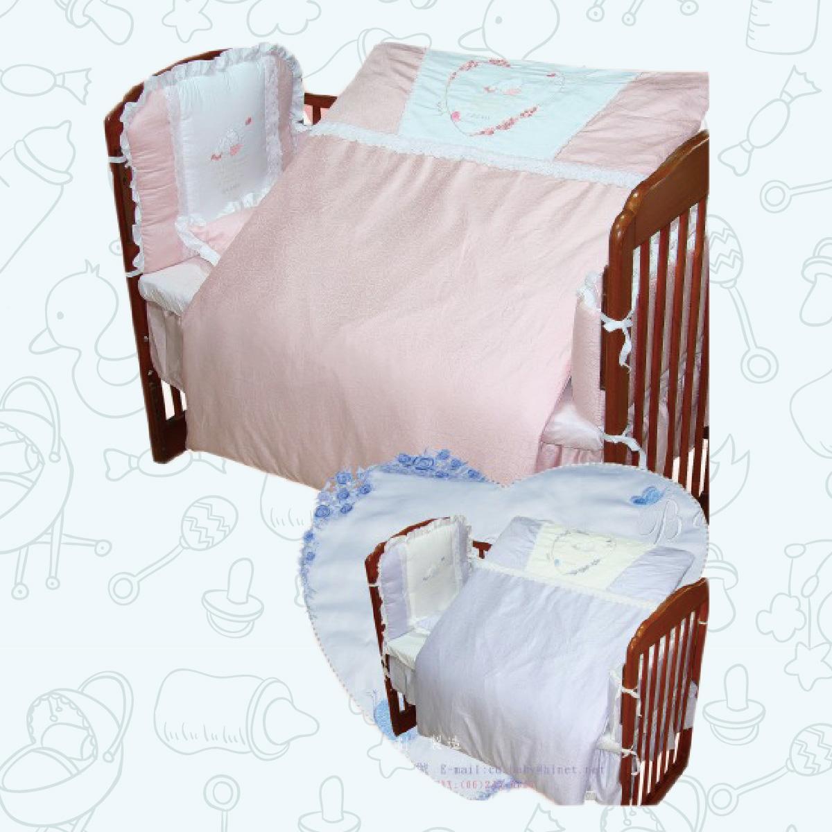 玫瑰童話七件式寢具組(M)